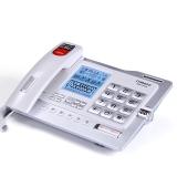 中诺(CHINO-E)G025 带4G卡/SD卡可扩充/数码录音电话机座机办公/家用座机电话/固定电话座机 珍珠白