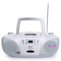 玛士特(MATESTAR) DVR58 全能复读DVD便携式播放机 迷你音响(白色)