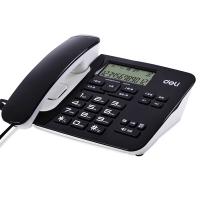 得力(deli) 794 经典款横式来电显示电话机/固定电话/座机 免电池