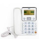 得力(deli) 789 来电显示办公家用电话机/固定电话/座机 超大可旋转屏