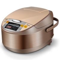 美的(Midea)电饭煲 金属拉丝机身 智能预约 黄晶内胆4L电饭锅MB-WRS4099A