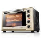 北美电器(ACA)电烤箱38L家用烘焙 高配款双层门ATO-MM3816AB