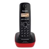松下(Panasonic) KX-TG12CN-1 数字单无绳电话机 靓丽红