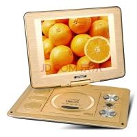 先科(SAST)FL-138C 10.4英寸移动DVD便携遥控电视看戏机唱戏机老年视频机(金)