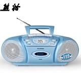 熊猫(PANDA) F-6608台式复读机 收录机 磁带复读机 U盘MP3播放器 插卡播放机 英语学习机