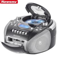 纽曼(Newsmy)DVD-M100黑色 英语学习机CD机磁带机复读机录音机卡带机DVD播放机胎教机收录机教学机U盘插卡手提音响
