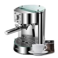 北美电器(ACA)意式咖啡机家用 泵压蒸汽打奶泡 AC-EG10B