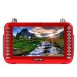 先科(SAST)ST-99C 7英寸看戏机录音晨练收音音频播放器(红色)