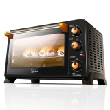 美的(Midea)MG25NF-AD二代 家用多功能电烤箱 25升 旋转烧烤