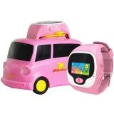 优彼(ubbie)早教故事魔法手表 小车版 移动充电外扩音箱小车底座+能学习通话定位的3岁以上儿童电话手表 粉色