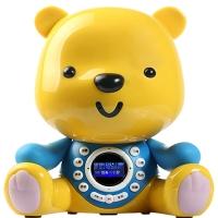 优彼(ubbie)智能启蒙益智双语学习液晶屏早教机故事机0-6岁儿童玩具 优智款 亲子熊四代  蓝色