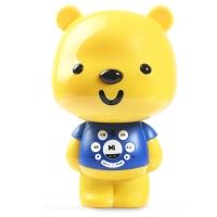 优彼(ubbie)智能启蒙益智双语学习早教机故事机0-6岁儿童玩具 优享款 亲子熊四代 蓝色