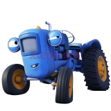 优彼(ubbie)欧力合金车模 小汽车玩具 0-6岁儿童玩具 动漫模型 加斯洛
