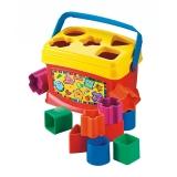 费雪 益智玩具 启蒙积木盒 Baby'sFirstBlocks K7167