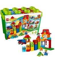 乐高 得宝系列 1.5岁-5岁 豪华乐趣盒 10580 益智 儿童 积木 玩具LEGO