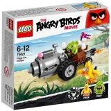 乐高 愤怒的小鸟系列 6岁-12岁 小猪大逃亡 75821 儿童 积木 玩具LEGO(售完即止)