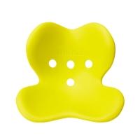 MTG 日本 Style Kids 矫正上课坐姿 防驼背 保护脊椎 儿童矫姿坐垫 S号 黄绿色 适用身高100cm-130cm