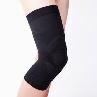 D&M 跑步羽毛球护膝保暖 自行车骑行足球运动护具男女日本原装进口 1187L 一只装