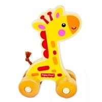 费雪 Fisher Price 益智早教玩具 小小动物推车-小小长颈鹿FP1006