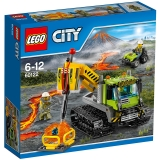 乐高 城市系列 6岁-12岁 火山探险履带式潜孔钻车 60122 儿童 积木 玩具LEGO