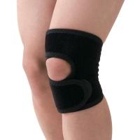 D&M篮球护膝男运动护具足球羽毛球护膝盖半月板损伤防护 D-81黑M一只装