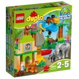 乐高 得宝系列 2岁-5岁 丛林动物 10804 益智 儿童 积木 玩具LEGO