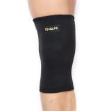 D&M护膝运动老人寒腿健身篮球户外登山膝盖保暖护具日本原装进口 821黑S一只装