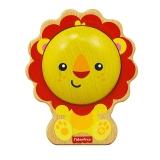 费雪 Fisher Price 益智早教玩具 木质环保狮子沙锤FP2002