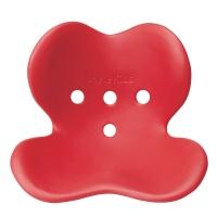 MTG 日本 Style Kids 矫正上课坐姿 防驼背 保护脊椎 儿童矫姿坐垫 L号 红色 适用身高125cm-155cm
