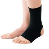 D&M 篮球足球护踝 男女跑步脚踝护具护脚腕护脚踝加压防护 521黑L一只装