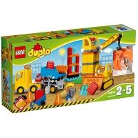 乐高 得宝系列 2岁-5岁 大型建筑工地 10813 益智 儿童 积木 玩具LEGO