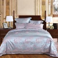 多喜爱(Dohia)床品套件 精致提花四件套 欧美床品套件 诗情画意 双人 1.8米床 230*230cm