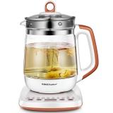 荣事达(Royalstar)养生壶玻璃加厚煮茶壶煮茶器暖奶器1.8L全自动多功能YSH1838(YSH12Y)