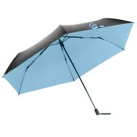 蕉下AIR系列三折伞,珊瑚蓝