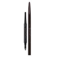 玛丽黛佳眉笔 塑型双效画眉笔GY-2奶奶灰0.15g+0.15g(眉笔 眉粉 防水防汗 不晕染 扁平笔头)