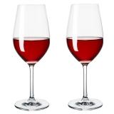 意德丽塔 无铅红酒杯高脚杯350ml 2只装 S81CD35/L2C