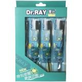 雷治(Dr.RAY) 畅快 牙刷×4 (特惠装)(送刷头保护套)(颜色随机)