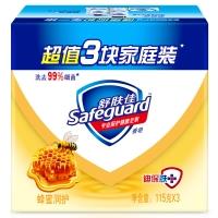 舒肤佳蜂蜜润护香皂115克X3(新老包装随机发货)