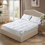 水星家纺(MERCURY)伊丽莎白鹅毛床垫 双人150*200cm秋冬羽绒床垫床褥