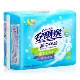 安尔乐 蓝芯体验 干爽网面 超薄夜用型 卫生巾 275mm*10片