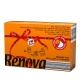 瑞诺瓦之爱( Renova) 香氛手帕纸 双拼活力橙/白色 3层9抽*6包 葡萄牙进口