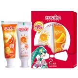 舒客宝贝 2阶段优护牙膏鲜橙味(40g+40g)(新老包装随机发货)