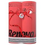 瑞诺瓦之爱(Renova) 双拼卷纸 大运红/白色 2层150节*6卷 葡萄牙进口