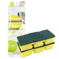 普业 海绵百洁布 洗碗棉(6块装) PY-0111