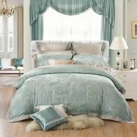 水星家纺(MERCURY) 床上用品六件套 欧式大提花六件套 艾利克斯 双人1.5米床