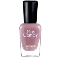 Miss Candy健康指彩撕拉可剥指甲油 可撕纯色环保显白 草裙舞裸色MH06