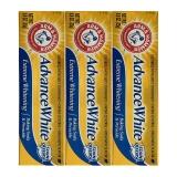 艾禾美(ARMHAMMER)亮白洁净牙膏 25g×3 超值旅行装 美白牙齿 清新口气