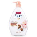 多芬(Dove)丰盈宠肤沐浴乳 甜杏仁和木槿花1000g(新旧包装随机发)(沐浴露)