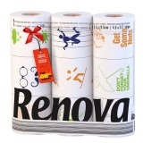 瑞诺瓦之爱(Renova) 卷纸名家设计款 2层140节*9卷 葡萄牙进口