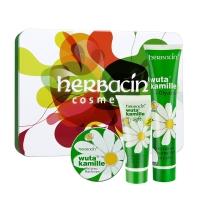小甘菊(Herbacin)经典护手霜套装(经典75ml+经典20ml+柔皙20ml)(滋润、保湿、防裂)